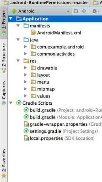 Tampilan Screenshot 1 AndroidTutorial