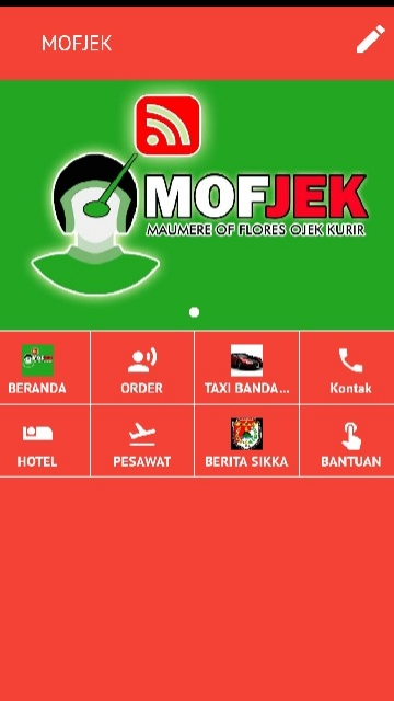 Tampilan Screenshot 1 MOFJEK