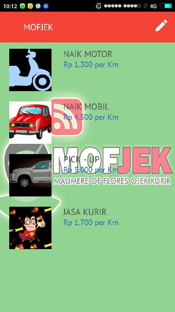 Tampilan Screenshot 2 MOFJEK