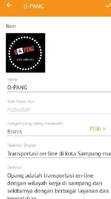 Tampilan Screenshot 2 O-PANG