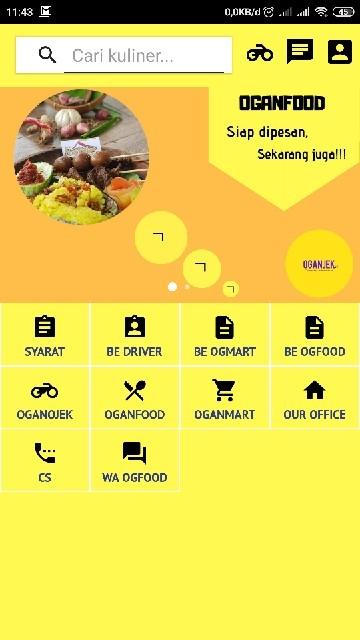 Tampilan Screenshot 1 OGANJEK V2