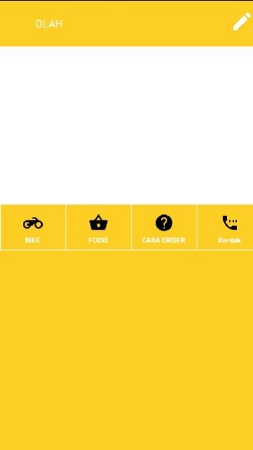 Tampilan Screenshot 1 OLAH
