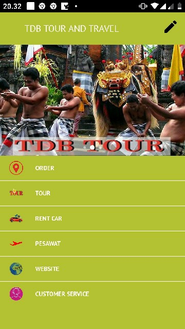 Tampilan Screenshot 2 TDBALI