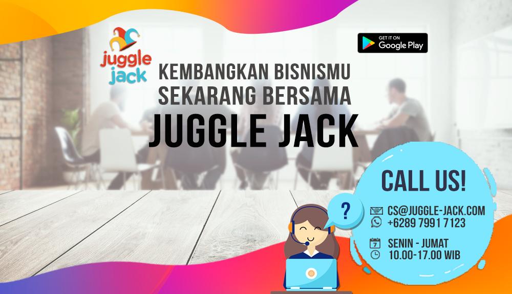 Buat Aplikasi Bisnis Online di Juggle Jack