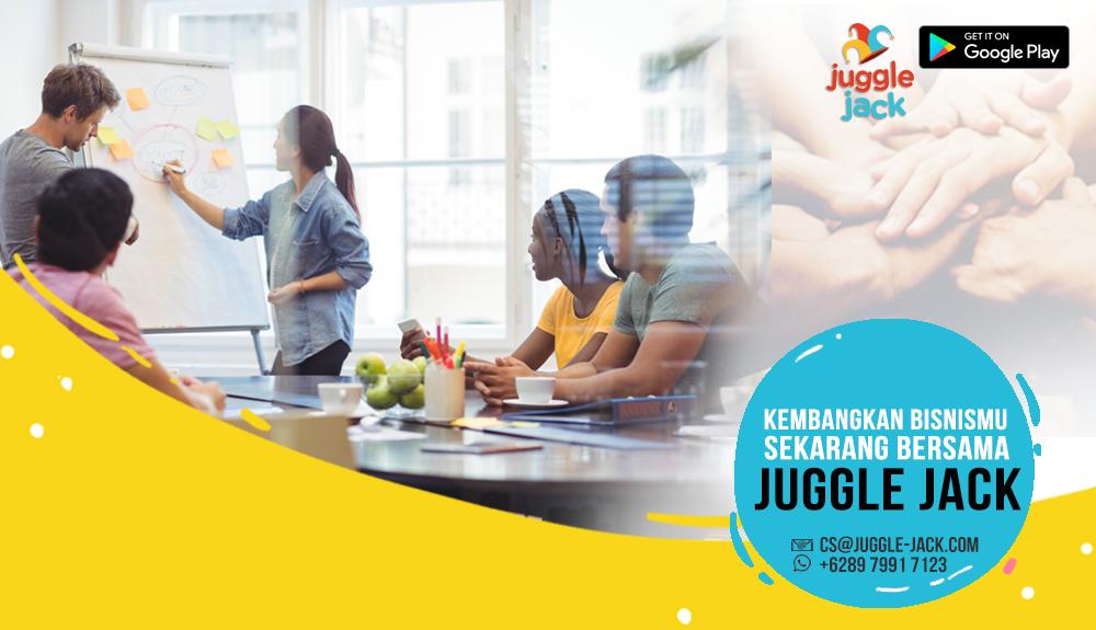 Bikin Aplikasi Bisnis Online di Juggle Jack