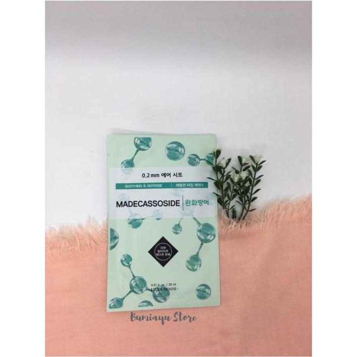 Etude House Therapy Air Mask Sheet Green Tea 4