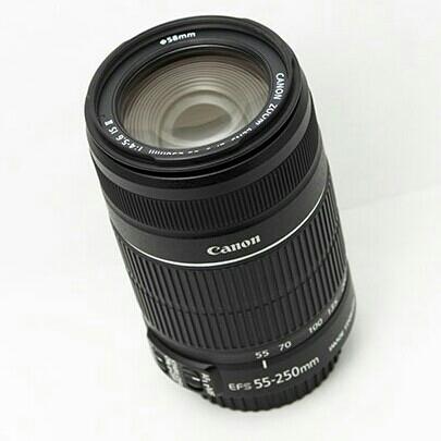 Lensa Kit Canon 18-55  2