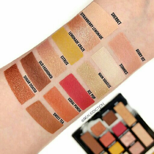 MAYBELLINE LEMONADE CRAZE EYESHADOW PALETTE 2