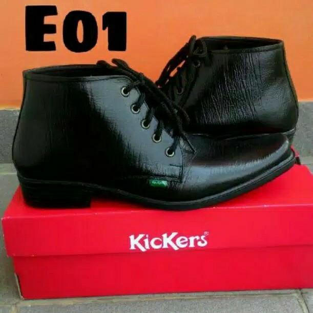 Sepatu Pantofel Kulit Sapi Asli Garut Risleting Formal Kerja Kantoran 3