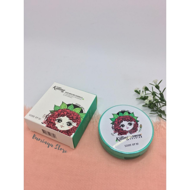 Some By Mi Killing Cover Moisture Cushion Green 2