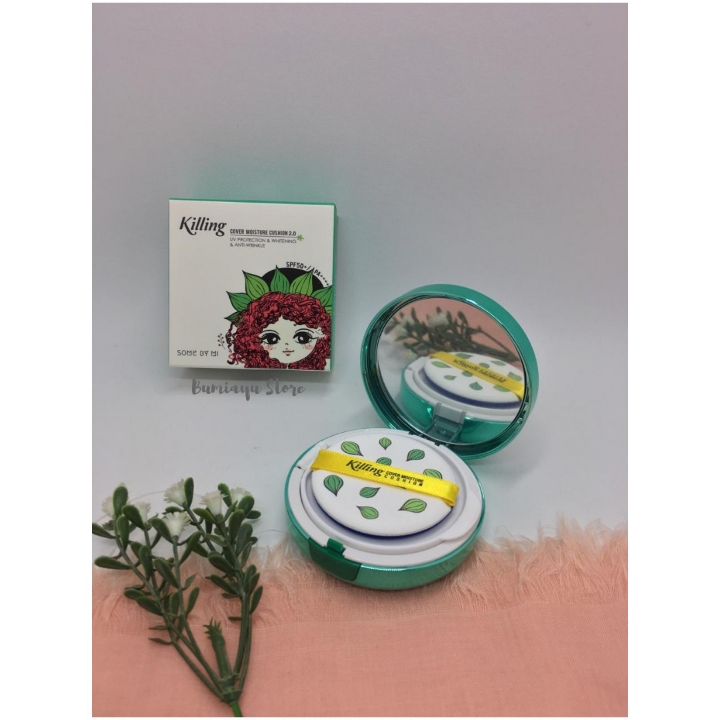 Some By Mi Killing Cover Moisture Cushion Green 3