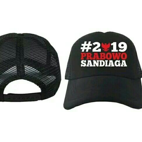 Topi Prabowo Sandiaga Premium Terlaris 2