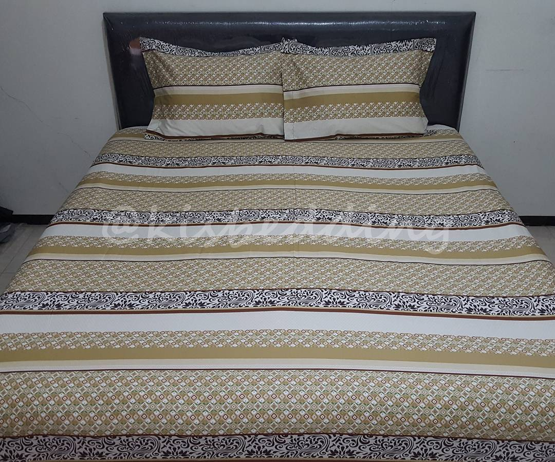 Sprei Motif Dark Chocolate
