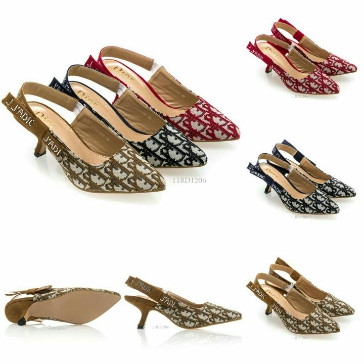 Sepatu DIOR Olivia Pumps 11RD1206