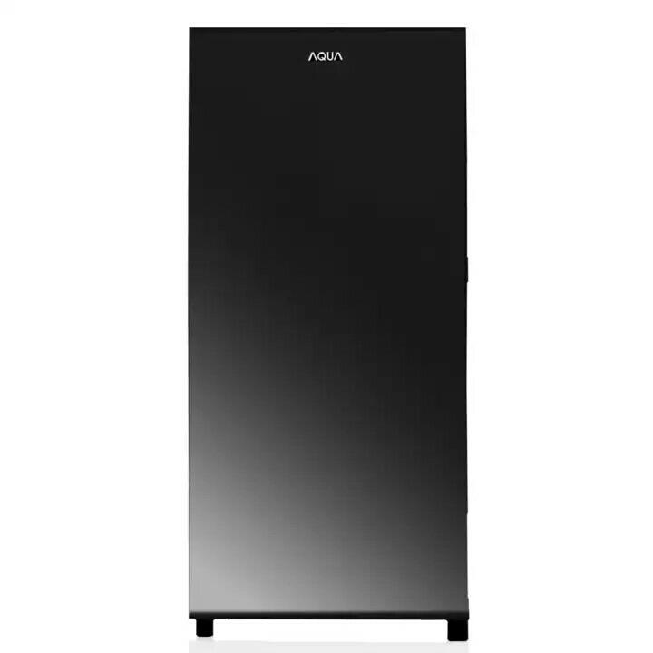 AQUA Kulkas Refrigeratorsatu pintu 153L model AQ-D191Dark Silver