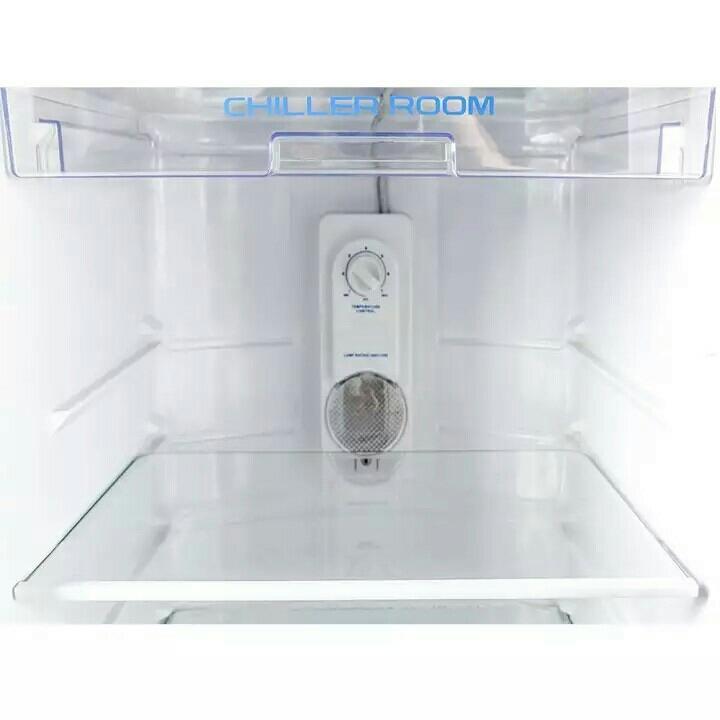 AQUA Kulkas Refrigeratorsatu pintu 163 L model AQ-D190Dark Silver