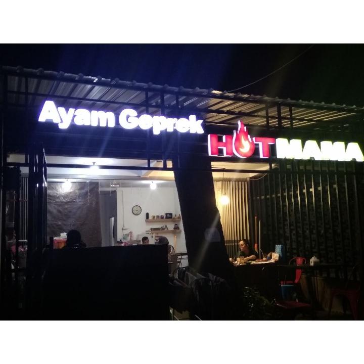 Ayam geprek Hot Mama - Toga