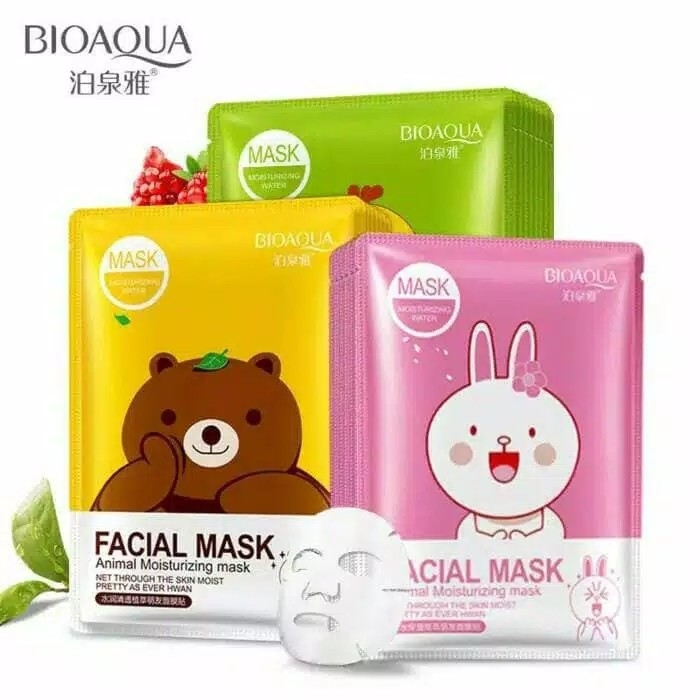 BIOAQUA LINE MOISTURIZING WATER FACIAL MASK 30G