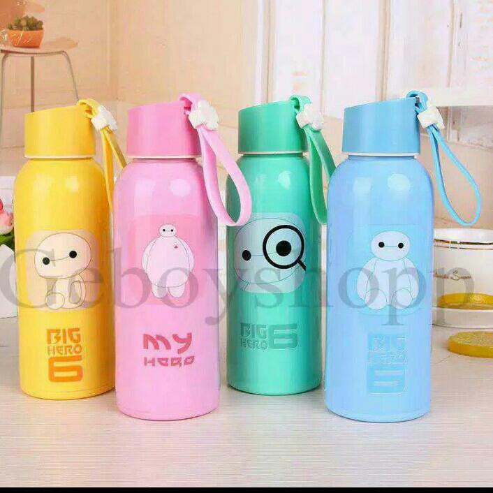Botol Air Minum Kaca Karakter