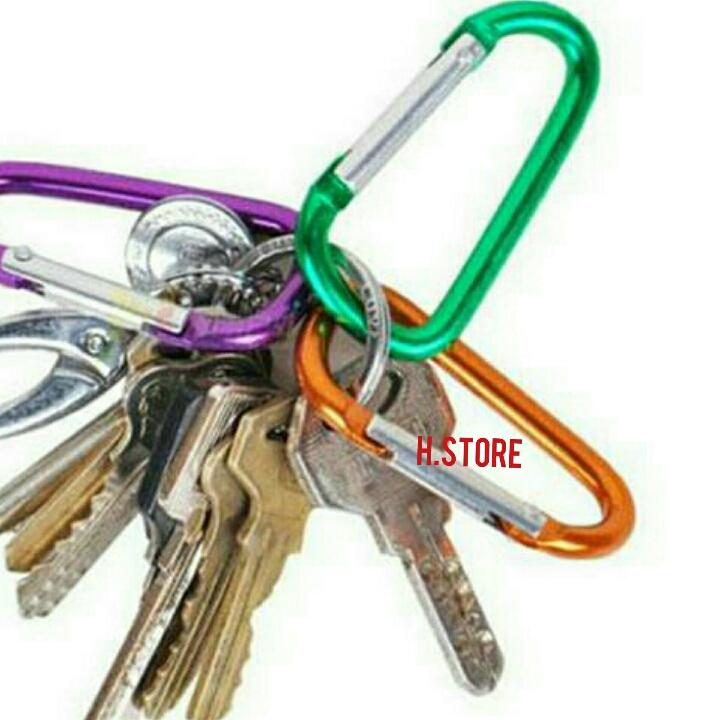 Carabiner Gantungan Kunci