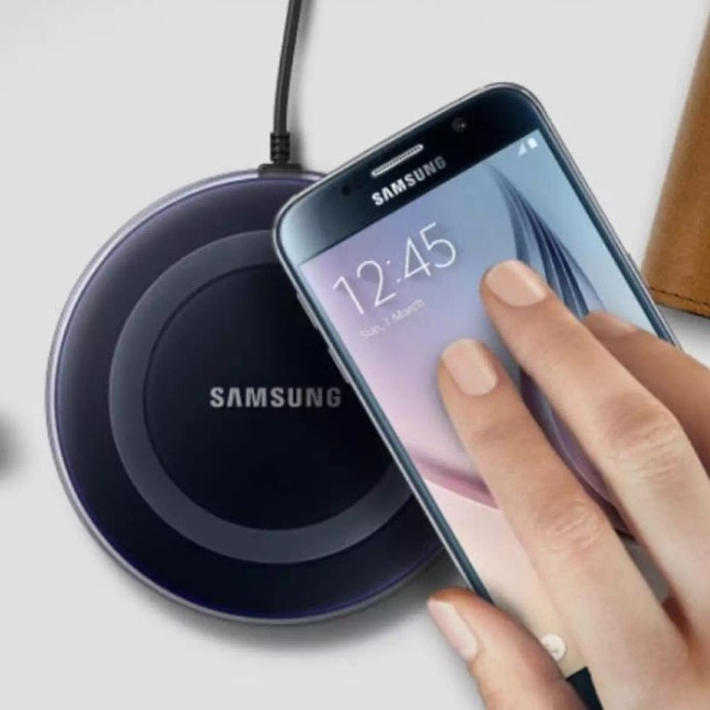 Charger Wireless Smartphone - Qi Pad Samsung Vivo Oppo LG Xiaomi Asus