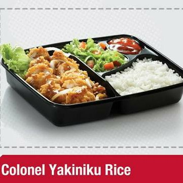 Colonel Yakiniku Rice