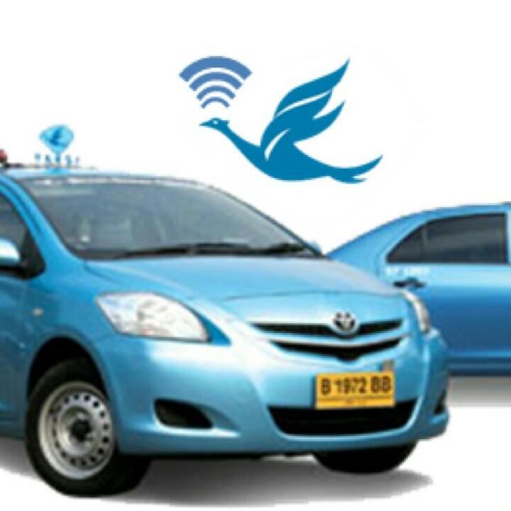 DRIVER TAXI BLUE BIRD ONLINE