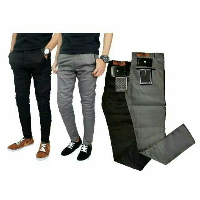 ESTA - ZaramaN PANJANG  Celana chino  warna