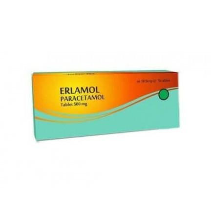 Erlamol Tablet Atau Paracetamol