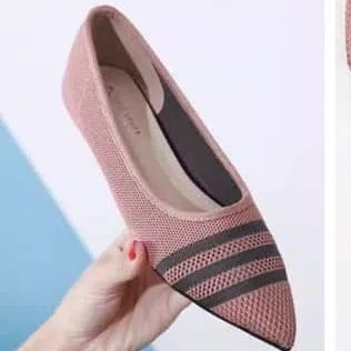 Flatshoes Adell 3 Strip Pink