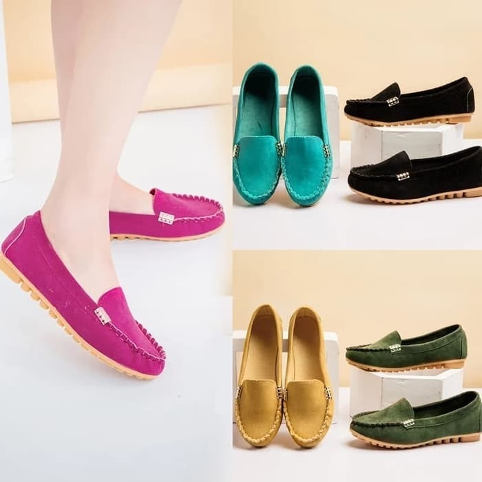 Flatshoes Ring B21 Warna Banyak