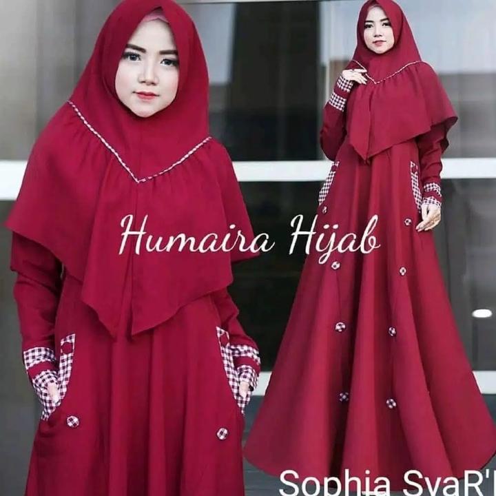 Gamis Syari SOPHIA SYARI Free hijab 2