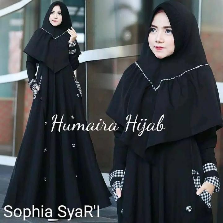 Gamis Syari SOPHIA SYARI Free hijab 3