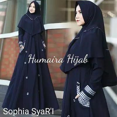 Gamis Syari SOPHIA SYARI Free hijab 4