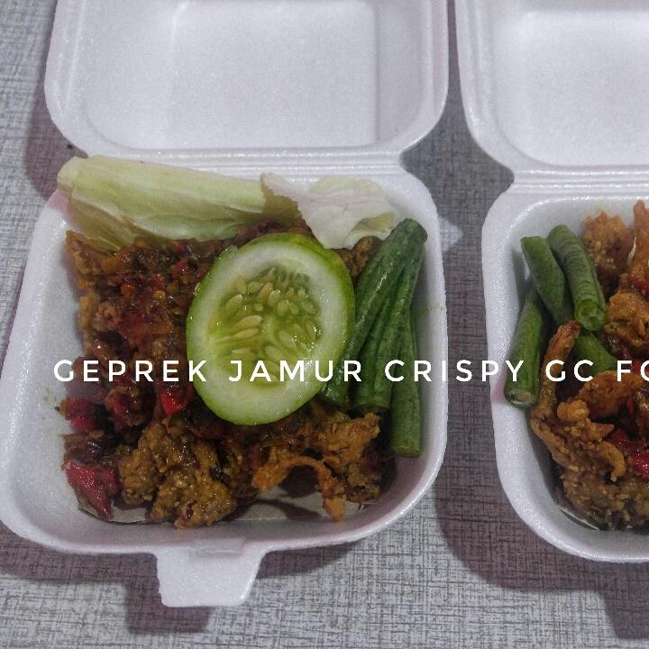 Geprek Jamur Cripsy GC Foodbake