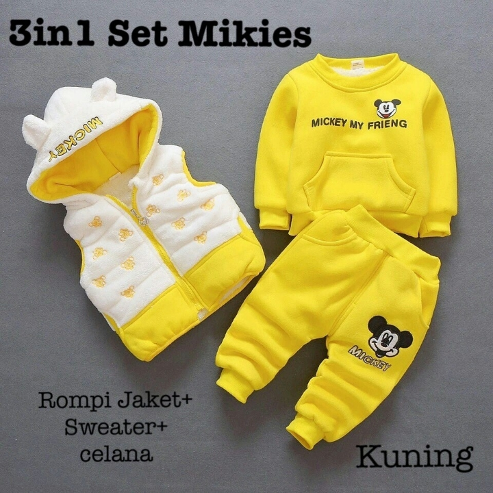 Set mikies 3in1