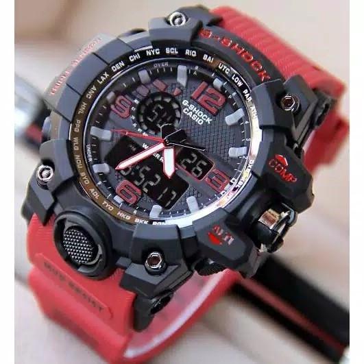 Jam Tangan Sporty Casio GShock Full Merah GWG1000