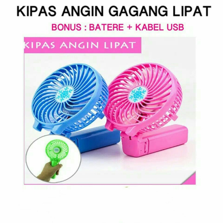 KIPAS ANGIN PORTABLE GAGANG
