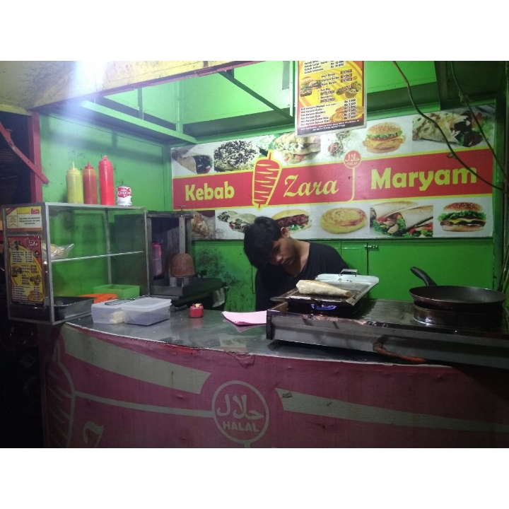 Kebab Zara dan Roti Maryam