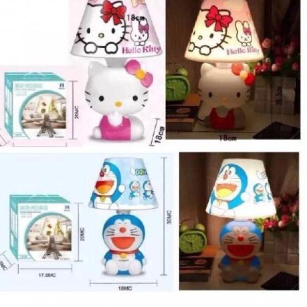 Lampu tidur MH 9055 Hello Kitty Doraemon Keropi Keroppi 2