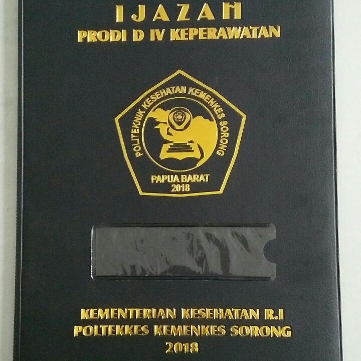 Map Ijazah - Sampul Rapor