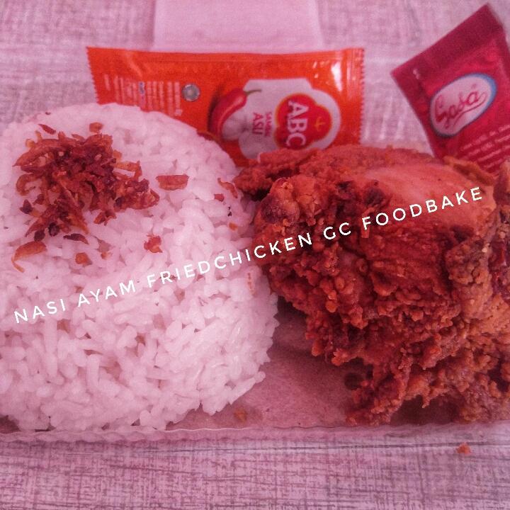 Nasi Ayam Friedchicken