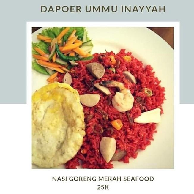 Nasi Goreng Merah Seafood