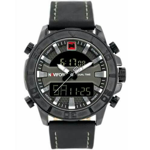 Naviforce Original Dualtime N9114 - Black