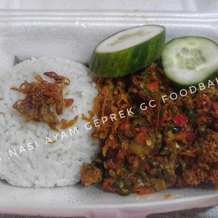 Paket Nasi Ayam Geprek GC Foodbake