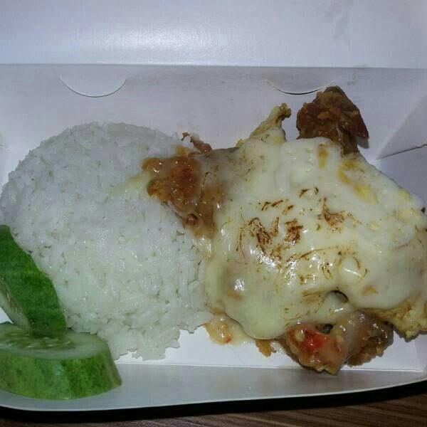 Paket Nasi Ayam Geprek Mozarella GC Foodbake