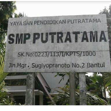 SMP PUTRATAMA BANTUL