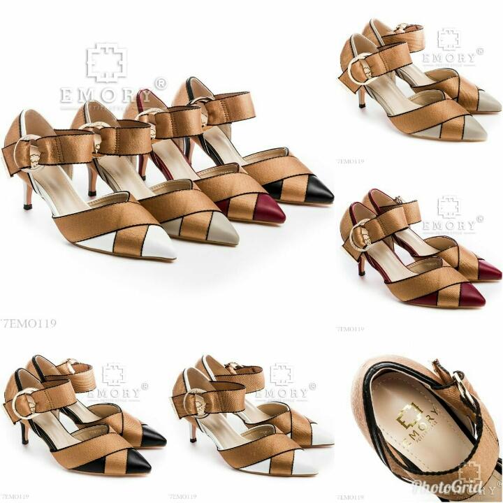Sepatu E M O R Y Joya Heels 77EMO119
