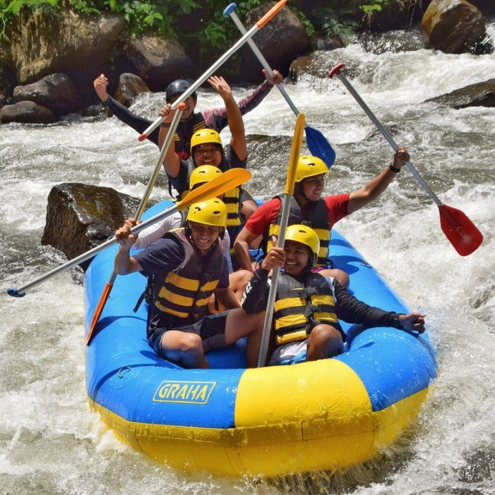 Ubud White Water Rafting 2