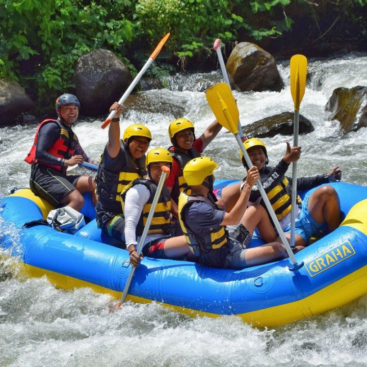Ubud White Water Rafting 3